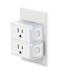 TP-Link - Smart Wi-Fi Plug Mini, Pack of 2