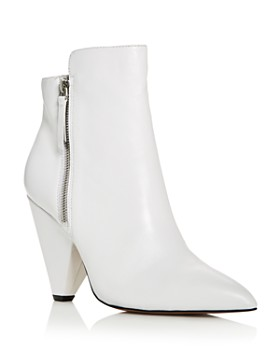 Kenneth Cole - Women's Galway Leather High-Heel Booties