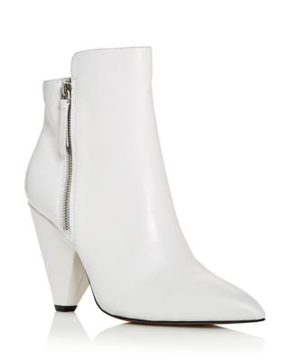 Women's Galway Leather High Heel Booties by Kenneth Cole