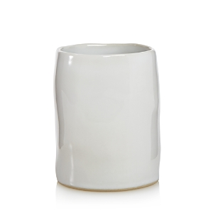 Vietri Bath Essentials White Gloss Round Vase - 100% Exclusive