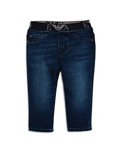 Armani Junior - Boys' Logo Waistband Jeans - Baby