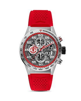 TAG Heuer - Carrera Manchester United Edition Skeleton Chronograph, 43mm