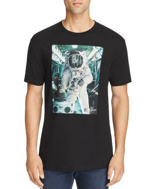 KID DANGEROUS ASTRO SUBWAY GRAPHIC TEE
