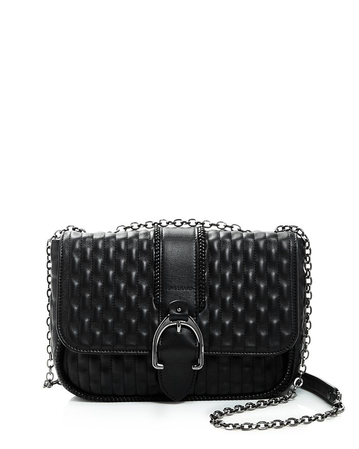4df05f1af75c Longchamp - Amazone Matelass eacute  Small Leather Shoulder Bag