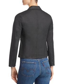 Eileen Fisher Petites - Cropped Moto Jacket