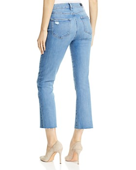 PAIGE - Colette Crop Flare Jeans in Tamsen - 100% Exclusive