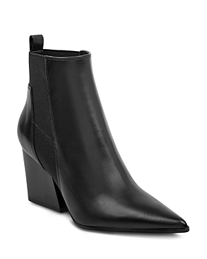 Kendall and Kylie Finch Leather Ankle Boots
