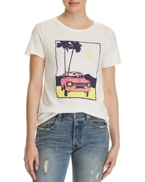MICHELLE BY COMUNE CAR GRAPHIC TEE - 100% EXCLUSIVE