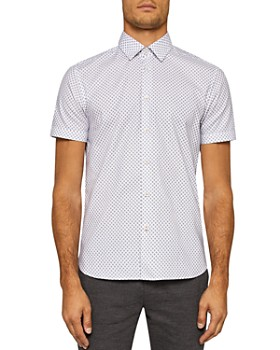 Ted Baker - Foresth Geo Regular Fit Button-Down Shirt