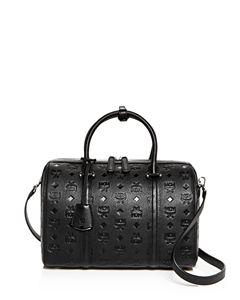1e1b007fdc31e0 MCM Ella Boston Large Leather Satchel