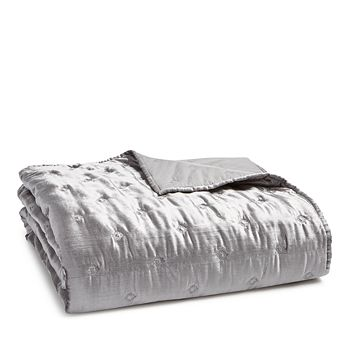 Hudson Park Collection - Woven Diamond Coverlet, Queen - 100% Exclusive