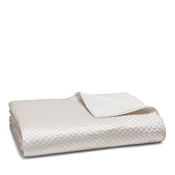 Hudson Park Collection - Cotton & Silk Coverlet, Queen - 100% Exclusive