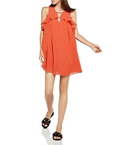 BCBGeneration - Ruffled Pleated A-Line Dress
