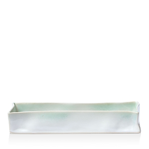 Vietri Bath Essentials Aqua Rectangular Tray