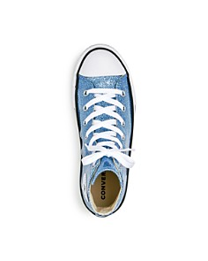 Converse - Girls' Chuck Taylor All Star Glitter High Top Sneakers - Little Kid, Big Kid