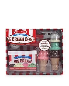 Melissa & Doug - Scoop & Stack Ice Cream Cone Play Set - Ages 3+