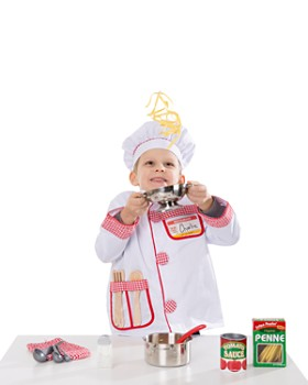 Melissa & Doug - Prepare & Serve Pasta Play Set - Ages 3+