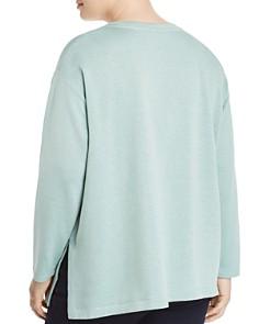 Eileen Fisher Plus - Organic Linen Long-Sleeve Top