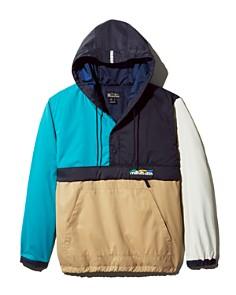 Manastash - Flex Color-Block Hooded Pullover Anorak