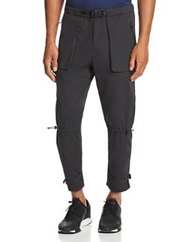 Dyne - Cropped Bondage Zip Pants