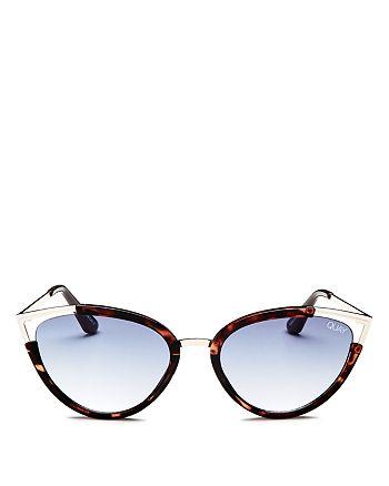 Quay - Women's Hearsay Cat Eye Sunglasses, 58mm
