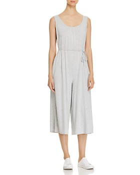 Cupio - Fluid Cropped Wide-Leg Jumpsuit