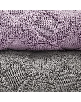 Sky - Textured Geo Knit Throw - 100% Exclusive