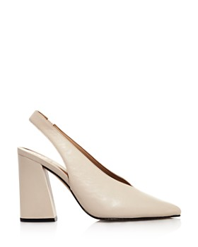 VINCE CAMUTO - Women's Tashinta Pointed-Toe Block High-Heel Pumps