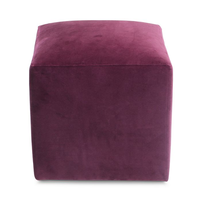 Bloomingdale's Artisan Collection - Jax Velvet Cube Ottoman