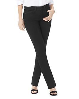 NYDJ - Marilyn Straight Jeans in Black