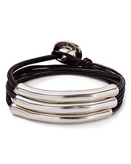 Uno de 50 - Not to Be Wrap Bracelet