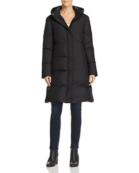 Theory - Hooded Down Coat