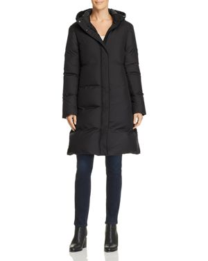 Theory Hooded Down Coat