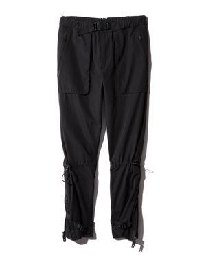 DYNE Cropped Utility Pants in Onyx