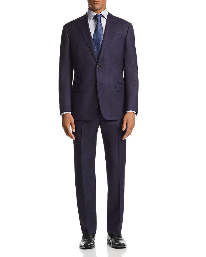 Armani - G-Line Plaid Classic Fit Suit