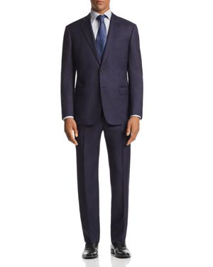 G-LINE MICRO-CHECK-PRINT CLASSIC FIT SUIT