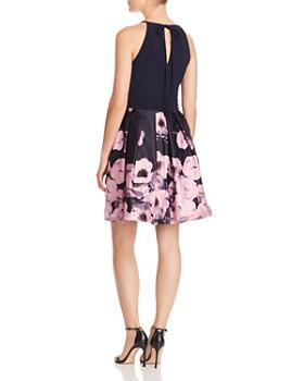 AQUA - Floral Skater Dress - 100% Exclusive