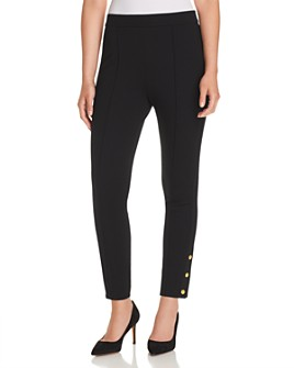 Tory Burch - Alexis Snap-Hem Leggings