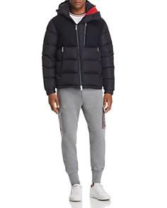 Moncler Lavedan Down Jacket, Ringer Tee & Jogger Pants - Bloomingdale's_0