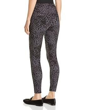 Lyssé - Toothpick Leopard-Print Denim Leggings