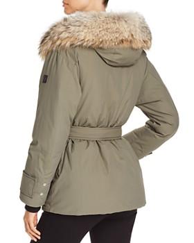Belstaff - Dawlby Fur Trim Mid Down Coat