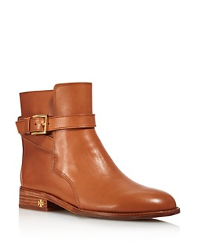 4a59b2265ee1 Tory Burch - Women s Brooke Leather Ankle Booties ...
