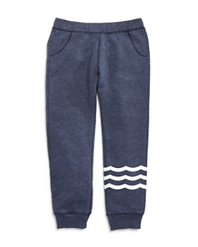 SOL ANGELES - Unisex Waves French Terry Jogger Pants - Little Kid