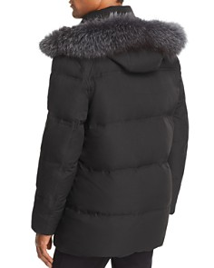 Andrew Marc - Belmont Fox Fur-Trimmed Quilted Parka