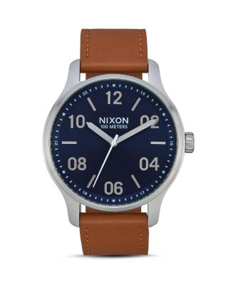 Nixon Leather NavySaddlea1243 The Patrol 2186 wkOn0P
