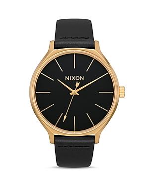 Nixon Clique Black Dial Watch, 38mm