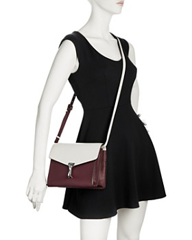 Burberry - Two-tone Leather Crossbody Bag