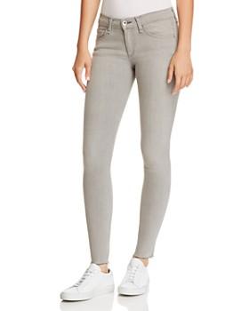 f2e48570517 rag   bone JEAN - Raw-Edge Ankle Skinny Jeans ...