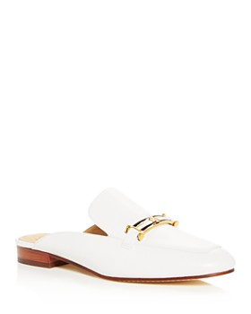 595478b2160e Tory Burch - Women s Amelia Leather Apron Toe Loafer Mules ...