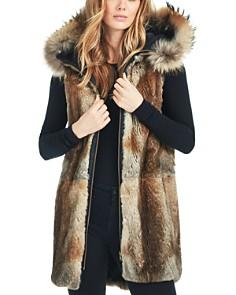 SAM. - Tribeca Fur Trim Convertible Parka